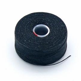 C-Lon rijggaren D - dikte 0,16mm - klos circa 70m - kleur zwart (AB20401)