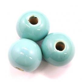 keramiek lichtblauw 16mm