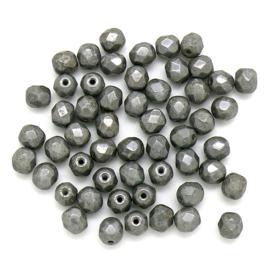 FPB 6mm kleur Chalk White Grey Luster - 03000/14449 - 25 stuks