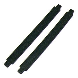 leren band 14mm breed kleur Goby Zwart - lengte 15cm (OL-22)