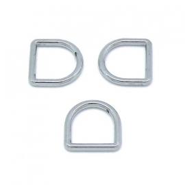 D-ring voor 13mm breed leer maat (BJ452Z/13)