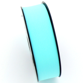 elastisch IBIZA lint 30mm breed - lenge 1 meter - kleur light aquamarine (BIL30-11)