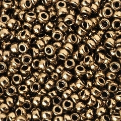 MR11-0457 Miyuki Rocailles 11/0 - 10 gram - kleur metallic dark bronze