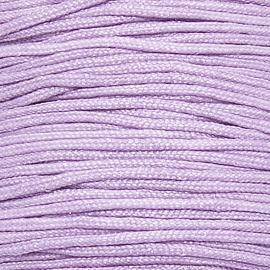 mousetailkoord 0,7mm (dun satijnkoord) - kleur violet nr.019 - 5 meter