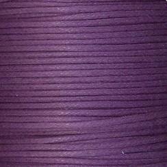 waxkoord 0,5 mm 1 meter kleur paars