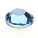 swarovski platte steen SS30 7 mm aquamarine
