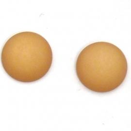 polariscabochon 12 mm - kleur champagne (M71413)