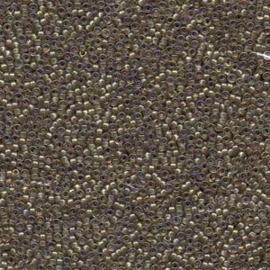 MR15-1837 Miyuki Rocailles 15/0 - 5 gram - kleur Taupe Line Smokey Amy