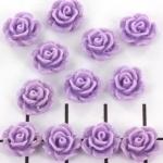 kraal roosje 9mm lila (BJ-21609-19)