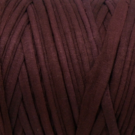 Gipsy koord - licht elastisch textielgaren - ongeveer 20mm breed - lengte 1m - kleur dark bordeaux (GIPSY B-27)