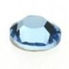 swarovski platte steen SS34 - kleur aquamarine
