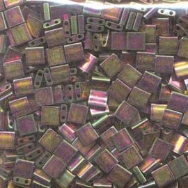 TL5-1893 Miyuki Tila 5x5mm - 5 gram - kleur Bronze Metalic Iris Luster