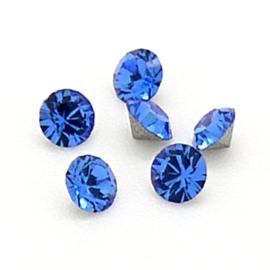 swarovski puntsteen PP24 - kleur Sapphire
