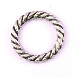 DQ metaal ring gedraaid 20mm binnemaat 14,5mm (B05-018-AS)