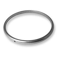 DQ metaal massieve armband binnnmaat 65mm - dik 3mm - breed 5mm (B08-008-AS)