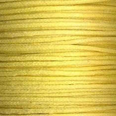 waxkoord 0,5 mm 10 meter kleur geel