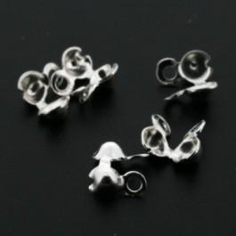 ballchain SPL zilver 2mm kalotje (AB66680)
