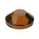 swarovski platte steen SS30 7 mm smoked topaz