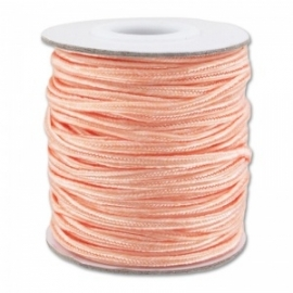 Soutache braid 3mm - color light peach - lengte 1m (BRF-257)