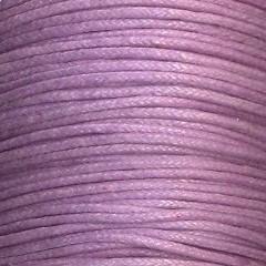 waxkoord 0,5 mm 1 meter kleur lila