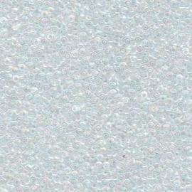 MR15-0250 Miyuki Rocailles 15/0 - 5 gram - kleur Crystal AB