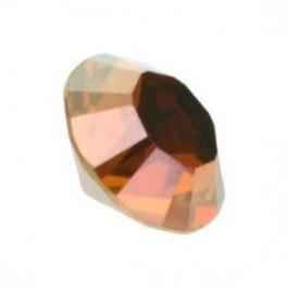 swarovski puntsteen SS29 6mm crystal copper