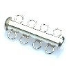 buisslot met magneet  maat 30mm breed (5-oogjes) (B07-034-AS)