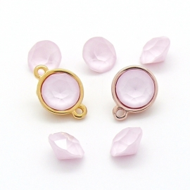 swarovski puntsteen SS39 8,5mm powder rose