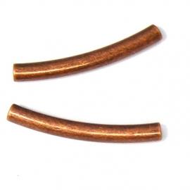 metaal KOPER buisje boog 3x25mm (AB854-4)