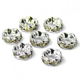 strass rondel SPL crystal maat 5mm (SD06290) - 5 stuks