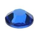 swarovski platte steen SS30 7 mm capri blue