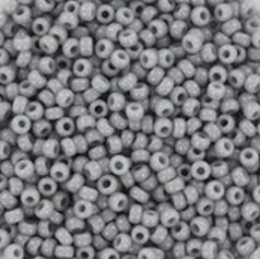 MR11-0498 Miyuki Rocailles 11/0 - 10 gram - kleur opaque  Cement Grey