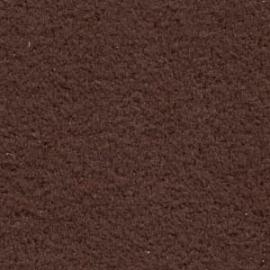 Ultra Suede vel maat 21.5x21.5 cm - kleur coffee (OAC-940)