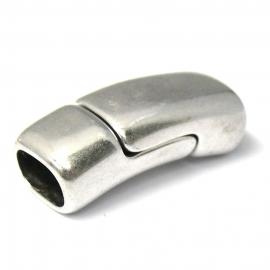 DQ metaal magneetsluiting 13x32mm gat 7x10mm REGALIZ (B07-038-AS)