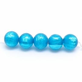 Polaris kraal 8mm - gat 1,5mm kleur indicolite pearl (POL-005-006)
