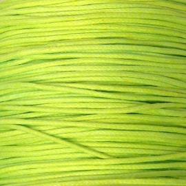 waxkoord 0,5 mm 10 meter licht lime