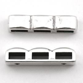 10-0061 verdeler 3-rij 26mm (gaten bestemd voor 5mm leer)
