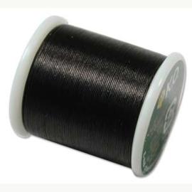 KO draad kleur black - rol 50m (no. 02BK)