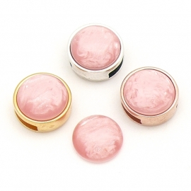 polariscabochon pearl 12mm - kleur light pink (CAB-12-021)