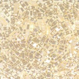 QTL-0592 Miyuki Quarter Tila - maat 5x2,3mm - 5 gram - Ceylon Antique Ivory