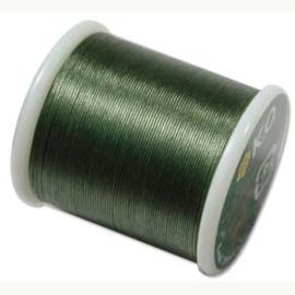 KO draad kleur dark olive - rol 50m (no. 12OL)