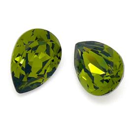 swarovski druppel 10x14mm kleur olivine (BSDR-023)