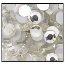 Swarovski platte steen SS16 - kleur Crystal