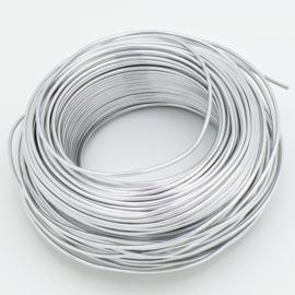 Aluminium Memory Zilverdraad - 2mm dik - 2,5 meter