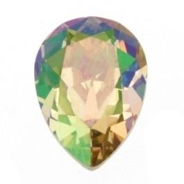 swarovski druppel 4320 10x14mm kleur crystal luminous green (BSDR-013)