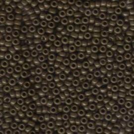 MR8-0409 Miyuki Rocailles 8/0 - 10 gram - kleur opaque chocolate