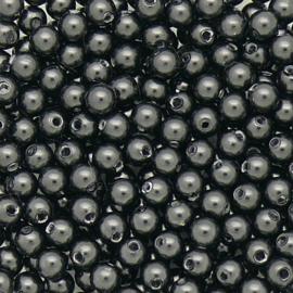 swarovski parel 3mm - 5810 -  kleur Black pearl per 25 stuks