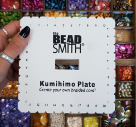 Beadalon Kumihimo Disc Vierkant maat L -13,9 cm (AB23922)