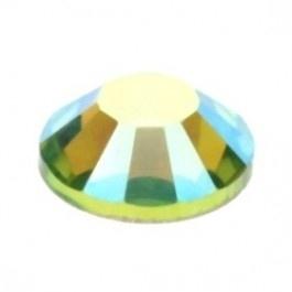 swarovski platte steen SS30 7 mm peridot AB
