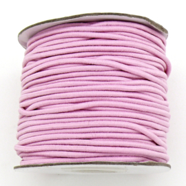 stoffen elastiek 2mm dik - kleur light pink - 2 meter